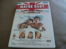 """DVD """"MAYBE BABY ou COMMENT LES ANGLAIS SE REPRODUISENT"""" Hugh LAURIE / Ben ELTON"""