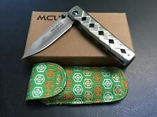 Mcusta Yoroi MC-0037C - San Mai Damascus - Manual Folding Knife - Seki Japan