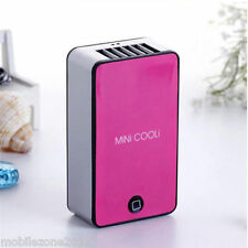PORTABLE MINI AIR CONDITIONER FAN RECHARGEABLE BATTERY USB FOR SUMMER - UZ147