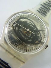 GK191 Swatch 1995 Skizzo Transparent Artistic Swiss Made New In Box