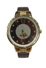 Krizia Donna Orologio Watch Woman Uhr Nives 202783GB-14A Oro Pelle Marrone Nuovo