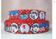 The Cat in a Hat ribbon Dr Seuss Thing 1 and Thing 2