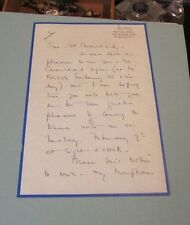 1954 Helen Hamilton Woods WAC Womens Army Corps Director Autograph Signed Letter