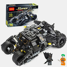 Hot Batmobile Chariot The Super Heroes Minifigure Building Blocks Toy Child Gift
