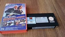 WRONGFULLY ACCUSED - LESLIE NIELSEN -   VHS VIDEO