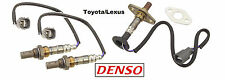 Set of 3 - RX300 & Highlander Front & Rear Oxygen Sensor Genuine DENSO OEM Plug