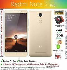 "Xiaomi Redmi Note 3 Pro premier 5.5"" dual sim Snapdragon 650 cpu 16MP camera new"