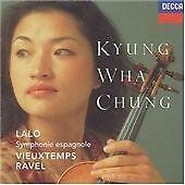 LALO Symphonie Espagnole/RAVEL/VIEUXTEMPS - Kyung Wha Chung - Decca CD