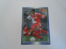 Carte panini - Official Football Cards 1995 - N°119 - Monaco - Luc Sonor