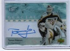 2007-08 Upper Deck Ice Glacial Graphs Tomas Vokoun Auto