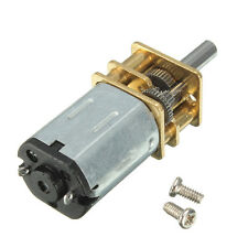Mini Metal DC 12V 100RPM Gear Box Motor High Torque with Gearwheel Model:N20