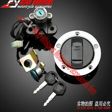 Ignition Switch Gas Cap Cover Key Lock Set For Suzuki GSF1250 Bandit 2007-2011
