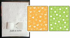 Sizzix Embossing Folders BUTTERFLIES & FLOWERS SET Folder set  657597 insects