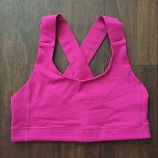 Lululemon ALL SPORT Sports Bra - Size 6 - Raspberry Bumbleberry Red