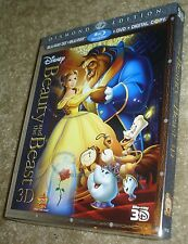 Beauty and the Beast (Blu-ray/DVD, 2011, 5-Disc Set, Diamond Edition)NEW,SEALED!
