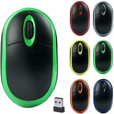New Solar Mini 2.4GHz USB Wireless Optical Gaming Mouse Mice Mice For PC Laptop
