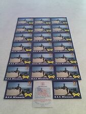 *****U.S.S. Wisconsin*****  Lot of 42 cards.....2 DIFFERENT