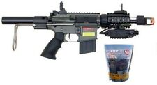 JG M4 CQP Fully Automatic Metal GB AEG Airsoft Rifle Includes 5,000 .20g BB's