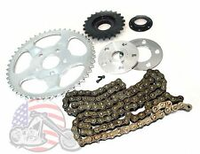 Chain Drive Transmission Sprocket Conversion Kit Harley Sportster Evo Hugger
