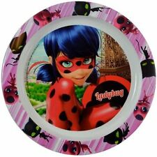 Miraculous Ladybug Kids White PP Plate Need Non Microwavable- 1 PC