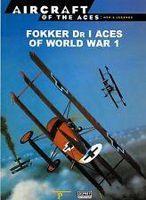 FOKKER Dr I ACES WORLD WAR 1 history luftwaffe dreidecker von richthofen udet