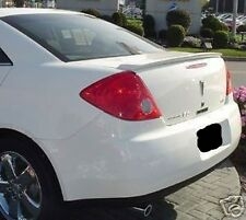 PAINTED ANY COLOR FOR  PONTIAC G6 4DR 2005-2010 REAR SPOILER WING