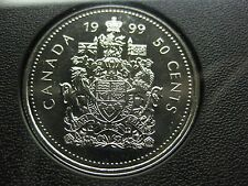 1999 Canadian Specimen 50 Cent ($0.50)