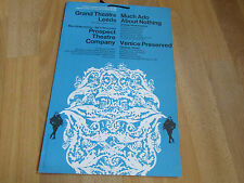 Much ADO About NOTHING & VENICE Preserved Leeds Grand Theatre Poster