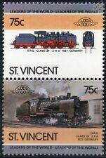 1927 DRG Class 24 2-6-0 (Deutsche Reichsbahn Germany) Train Stamps / LOCO 100