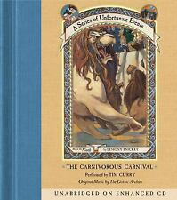 The Carnivorous Carnival  A Series of Unfortunate Events, Book 9  200 Ex-library