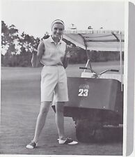 1970s AD SHEET #2803 - HARBURT ETONIC WOMENS GOLF CLOTHING - STRIPED BERMUDAS