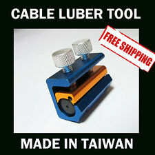Dual Cable Lube Luber Lubricator Lubricant tool Motorcycle Scooter Bike  QUAD