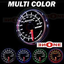 52mm Black 60 PSI Turbo Diesel Pressure Boost Gauge Kit