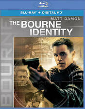 The Bourne Identity (Blu-ray Disc, 2016, Includes Digital Copy UltraViolet)