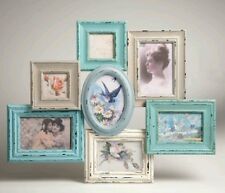 Large Delilah Multi Collage Photo Frame Duck Sass and Belle Vintage Shabby Chic