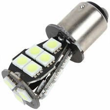 2x White Brake Tail Light 1157 BAY15D 18 LED 5050 SMD P21/5W CANBUS Bulb DC 12V