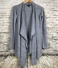 Barefoot Dreams Women S/M Bamboo Chic Lite Calypso Wrap Cardigan Sweater Gray