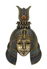 "10.75"" Cleopatra Headdress Mask Wall Plaque Egyptian Egypt Home Decor"