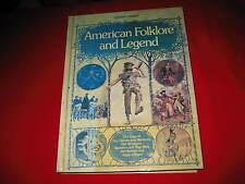 American Folklore and Legend Reader's Digest Editors hardcover mythology heroes
