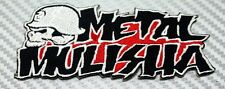 METAL MULISHA SKULL RACE Embroidered Patch Iron Sew Logo Hardcore Emblem Custom