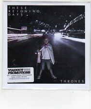 (FL614) These Reigning Days, Thrones - 2014 DJ CD