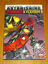 ASTONISHING SPIDERMAN & WOLVERINE MARVEL AARON KUBERT HARDBACK   9780785148906