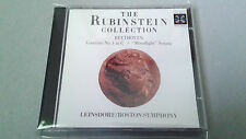 """LEINSDORF """"THE RUBINSTEIN COLLECTION BEETHOVEN CONCERTO N1 IN C"""" CD 6 TRACKS"""