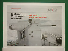 3/2008 PUB NEXTER SYSTEMS GIAT ARMEMENTS CANON NARWHAL MARINE NAVIES ORIGINAL AD