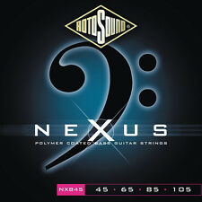 Rotosound Nexus NXB45 Black Coated Electric Bass Strings