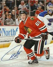 Chicago Blackhawks Andrew Shaw Signed Autographed 8x10 Photo COA