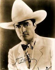 RARE STILL SIGNED TOM MIX