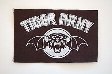 """Tiger Army Cloth Patch Sew On Badge Rock Psychobilly Approx. 5""""X3"""" (CP91)"""