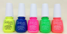 Gelaze by China Glaze - Gel-n-Base In One - SET OF 5 COLORS