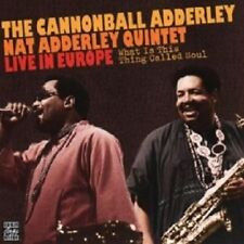 CANNONBALL ADDERLEY - WHAT IS THIS THING CALLED SOUL?  CD NEU